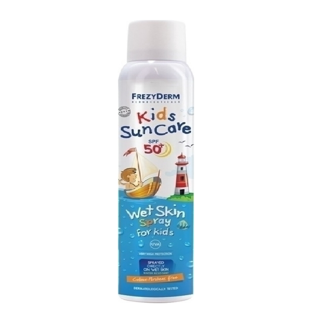 Frezyderm Kids Sun Care Wet Skin Spray SPF50 200ml