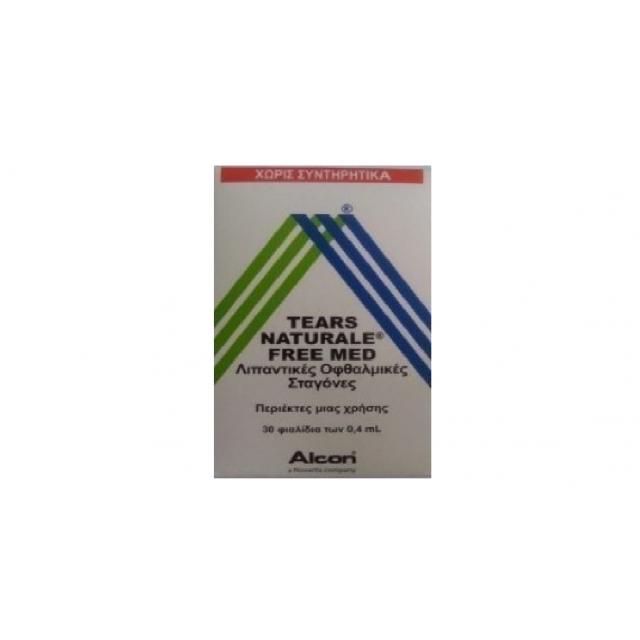 Alcon Tears Naturale Free Med 30 x 0.4ml ΠΡΟΪΟΝΤΑ  ΠΑΡΑΦΑΡΜΑΚΕΥΤΙΚΑ